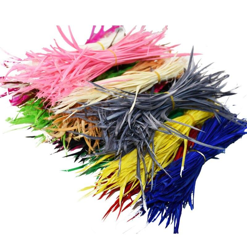 barato venta unids colorido tocado de indio americano de extender la boda de plumas