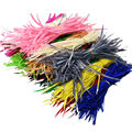 Cheap for Sale 24pcs Colorful American Indian Headdress Hair Extend Goose Feather Wedding Decorations Elegant Feathers IF6