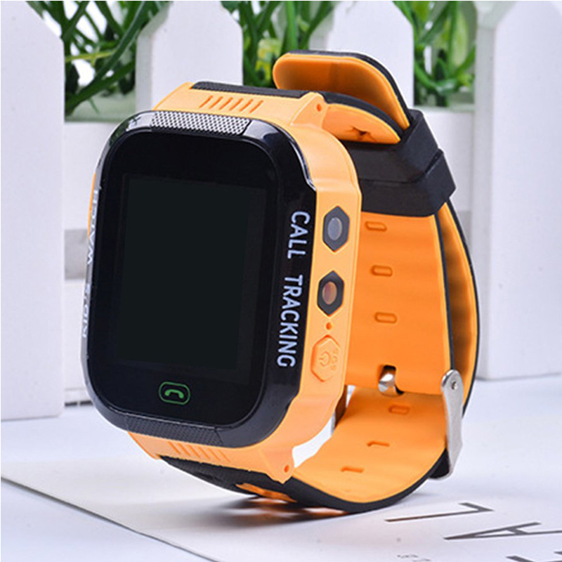 Smart-Watch Flashlight Gps-Tracker Touch-Screen Camera for Children Kids with Call-Location