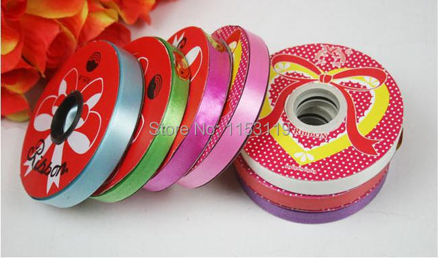 12cm28m Personalized Colorful Ribbons Balloons Ribbons Party