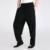 Novo Estilo dos homens Negros Casuais Solta Calça Masculina Chinesa Cotton Linen Kung Fu Tai Chi Calças Tamanho S M L XL XXL XXXL 2601-1