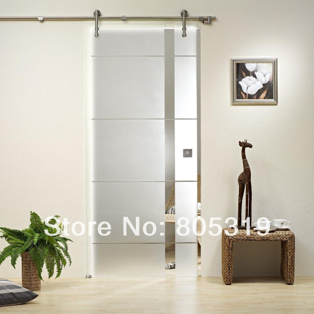 Sliding glass barn door sliding glass barn door frameless for 5 ft sliding glass door