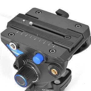 Image 5 - Benro QR13 plaque de fixation rapide aluminium professionnel QR13 plaque pour Benro S8 BV4 BV6 BV8 BV10 tête vidéo livraison gratuite