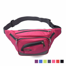 Couples Nylon Running Waist Bag New Style Chest Leisure Movement Outdoor Sports Waterproof  Multi-Function Men Packs
