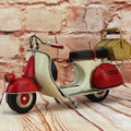 VESPA Motor Model Classic Motorcycle 100% Handmade Old Iron Sheet Model VESPA 1:12 Retro Metal Piaggio Scooter Sheep Motor Kid