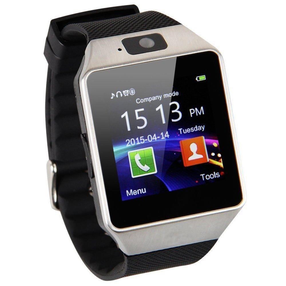 Bluetooth font b Smart b font font b Watch b font Smartwatch DZ09 Android Phone Call