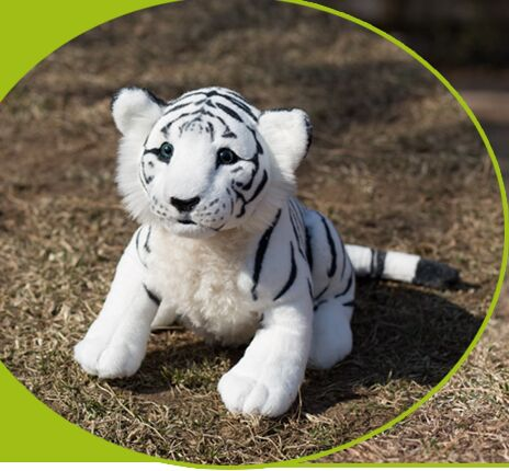 new simulation white sitting tiger plush tiger doll birthday ,Christmas gift about 45cm 2784 stuffed big animal plush tiger toy simulation tiger doll birthday gift 85cm