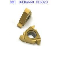 ag60 vp15tf ue6020 MMT16ER AG60 VP15TF / UE6020 / US735 קרביד משורשר Blade עבור חוט פנימי הפיכת חוט חיצוני מפנה CNC כלי מחרטה כלי (2)