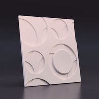 3D Gypsum Plaster mold for wall brick 28*2cm accept customization concrete brick molds Wall tile molds