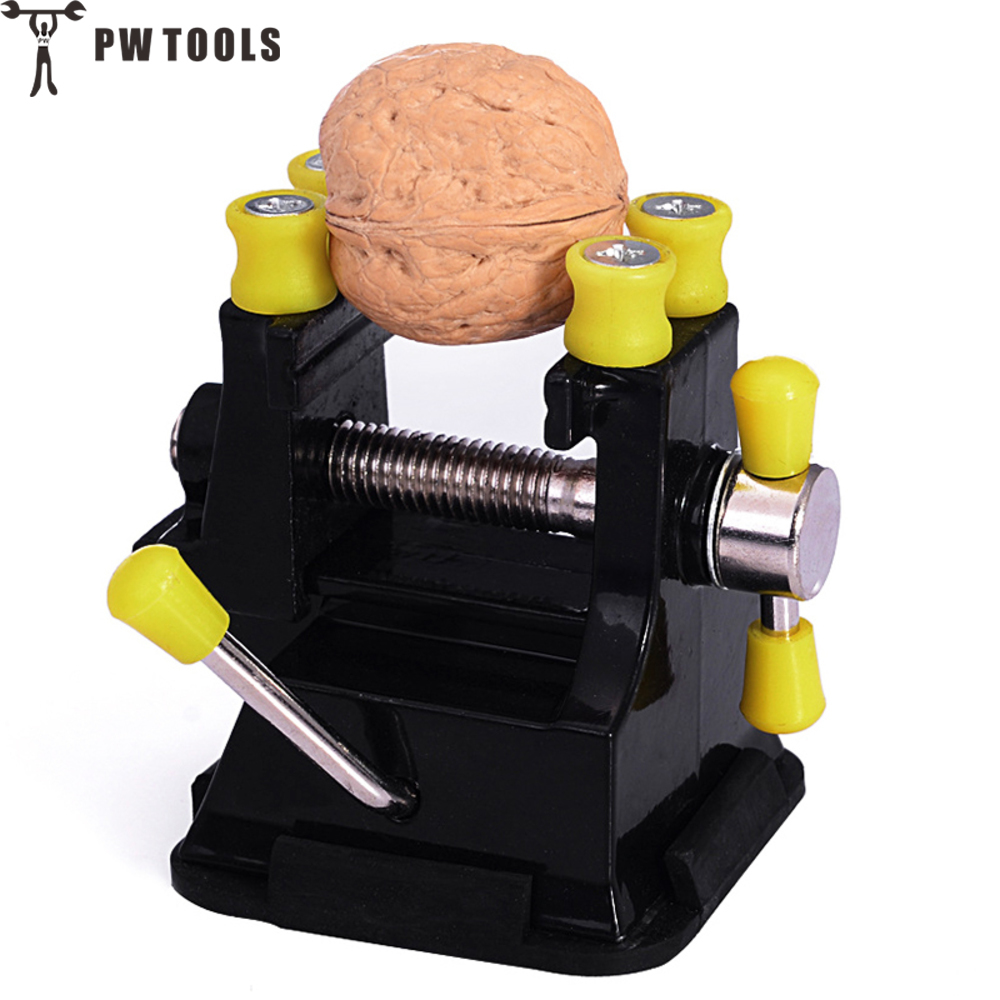 PW TOOLS New Aluminium Alloy Engraving Table Bench Clamp Engraving Grinding Polishing Vise Clamp Table Bench with Suction