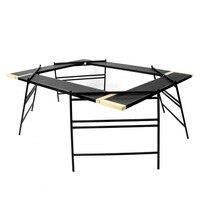 Новое сочетание открытый кемпинг стол для барбекю Портативный Multi function складной стол для самостоятельного вождения Пешие прогулки Пикник
