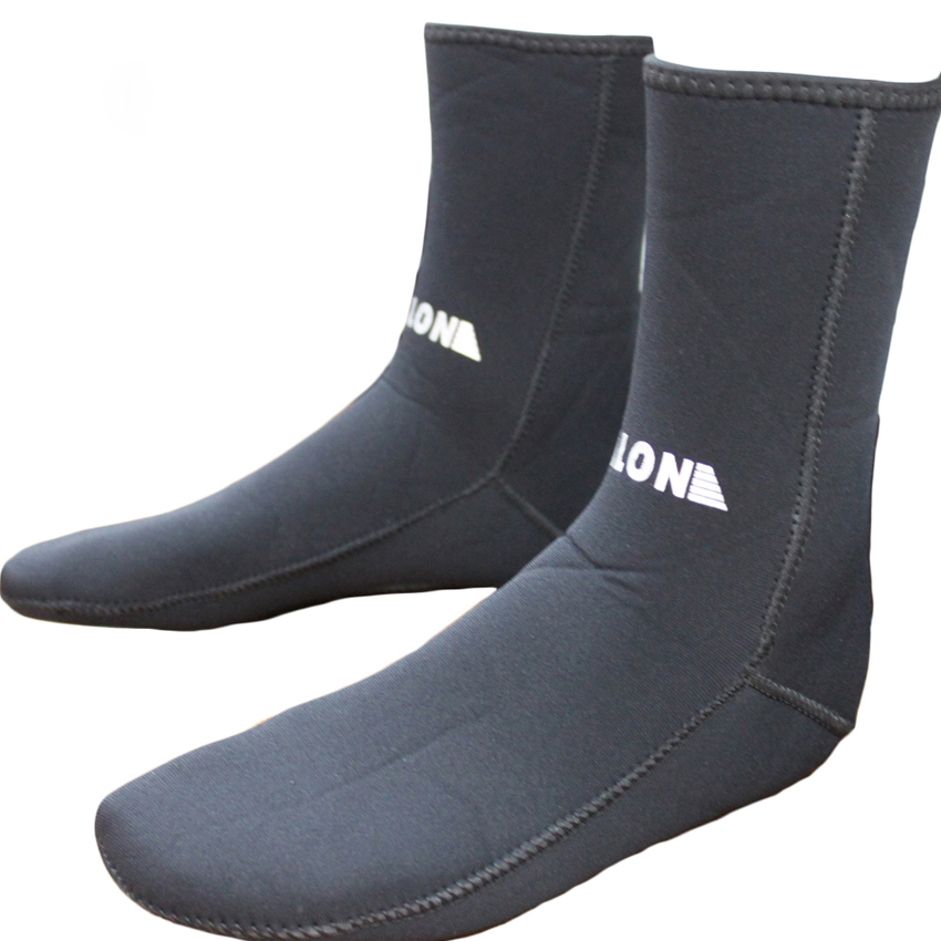 3MM Neopren Wetsuits Scuba Diving Socks Torka Slipfritt Håll Varma Skor Seaside Beach Skor för Surfing Simning Vattensporter