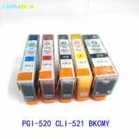 Einkshop 1set PGI-520 CLI-521 tinte patrone für Canon Pixma MP540 MP550 MP560 MP620 MP630 MP640 MP980 MP990 MX860 MX870 IP3600