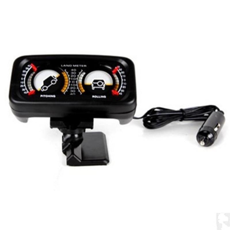 Car slope meter car adjustable rotary balancer Slope instrument with light Slope meter SUV Car Guide ball TR313