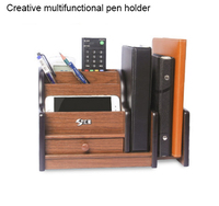 Multi function Desk Stationery Organizer Pen Holder Pens Stand Pencil Organizer for Desk Office Accessories Supplies Stationery
