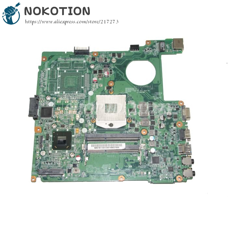 NOKOTION NBV7B11001 NB.V7B11.001 MAIN BOARD For Acer aspire E1 431 Laptop Motherboard DAZQSAMB6E1 HM67 UMA DDR3 m 3xl hot 2018 spring men s new fashion conventional models slim collar pu leather jacket