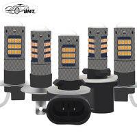 BMT H1 H3 LED h27 h27w2 h27w/2 881 880 h27w1 h27w led супер яркий Автомобильный светодиодный противотуманный фонарь для автомобилей дневные ходовые огни DRL лед ла...