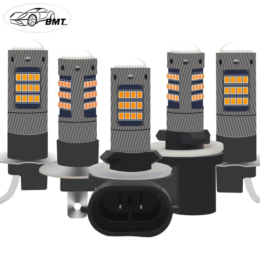 BMT H1 H3 LED H27w2 H27w/2 LED Bulb H21 H27w 880 881 H27w1 H27w/1 Car Led Fog Lights Lamp Cars Daytime Running Lights 12V LED