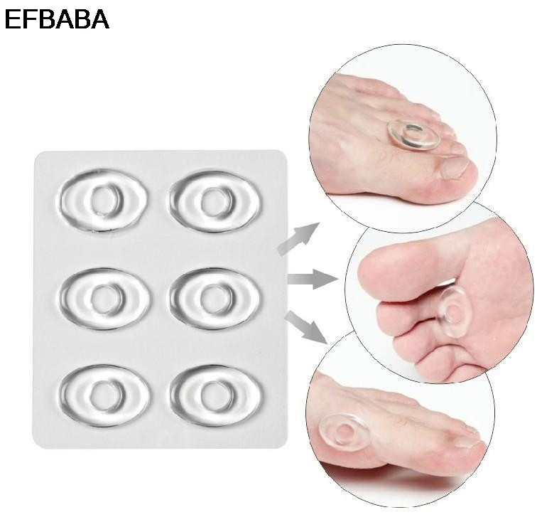 EFBABA Silicone Insoles Pads Gel Cushions Orthopedic Insoles High Heel Insole Shoes Inserts Pain Relief Shoe Sticker silicone insole prevent blisters pads gel cushions heel inserts shoe liners semelle chaussure palmilhas inlegzolen shoes insoles