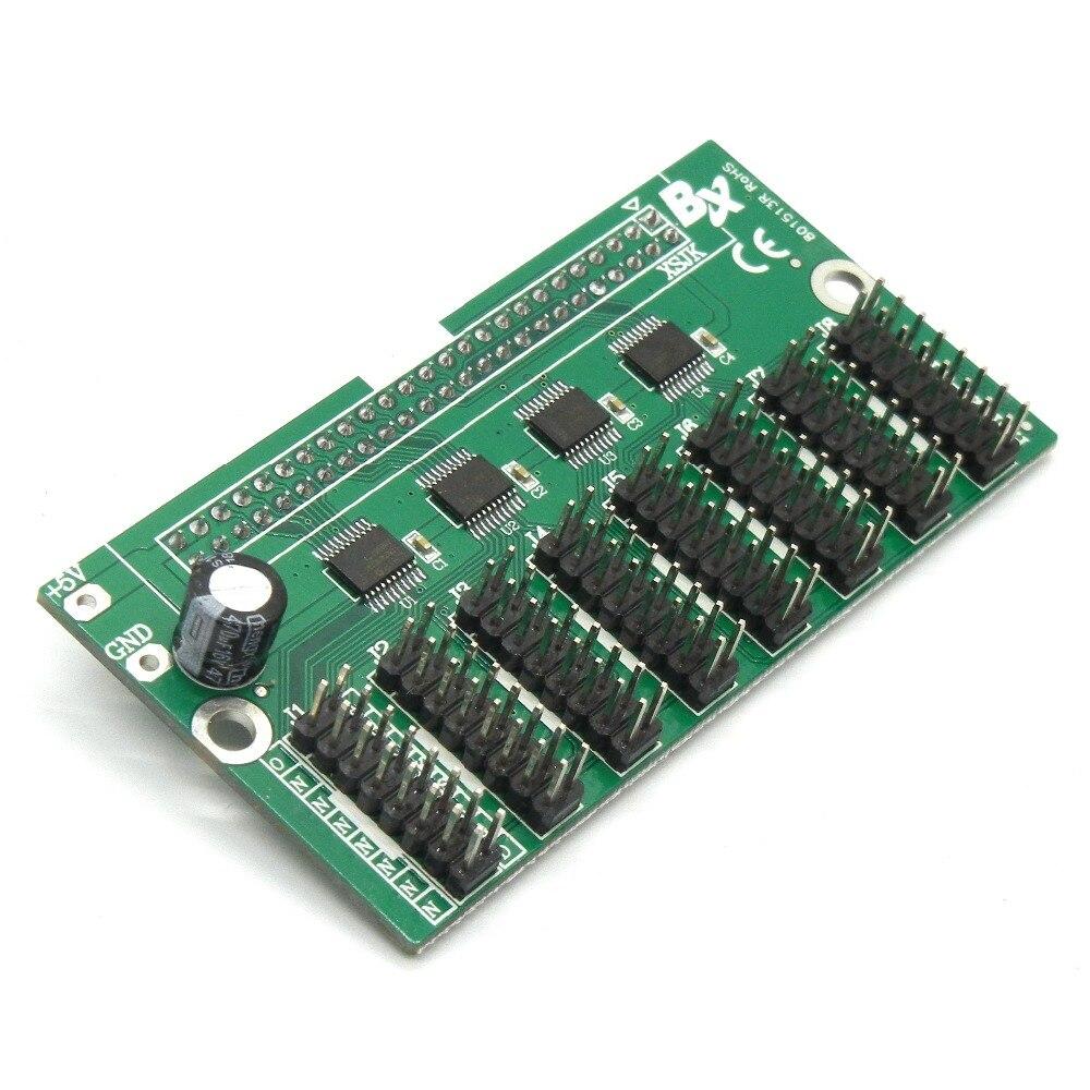 Hub128-T12 карта преобразования HUB12, совместимая с BX series светодиодный адаптер управления с 8 портами hub12 для модуля p10