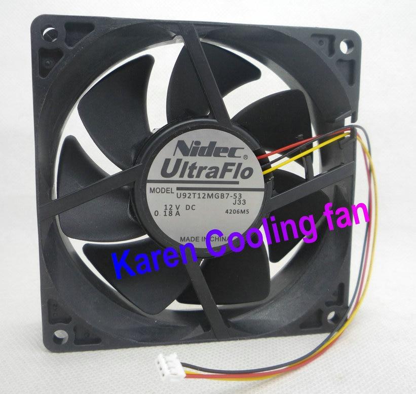 New Original Nidec Projector chassis cooling fan for EB-450W new original nidec 12cm ta450dc a34602