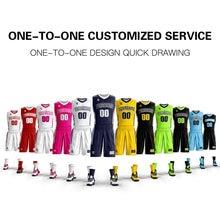 Новинка мужские баскетбольные трикотажные комплекты Униформа