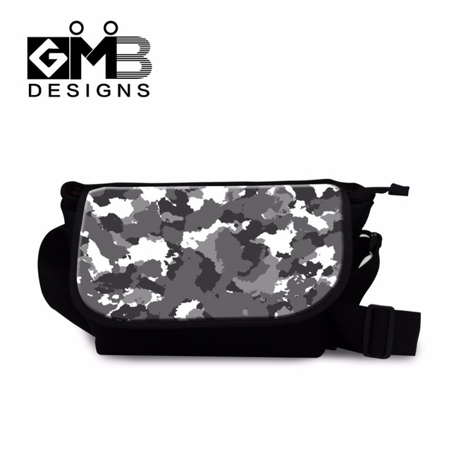 Side Body Bags For Boys Camouflage School Messenger Bag Children Mens Casual Cross Wallet