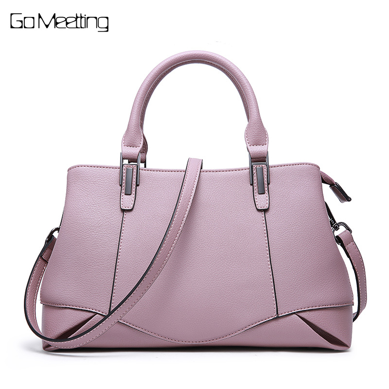 Go Meetting Genuine Leather Totes Female Shoulder Crossbody Bags For Women Leather Handbag Ladies Messenger Bag Top-handle Bag new genuine leather totes female shoulder crossbody bags for women leather handbag ladies messenger bag large top handle bag