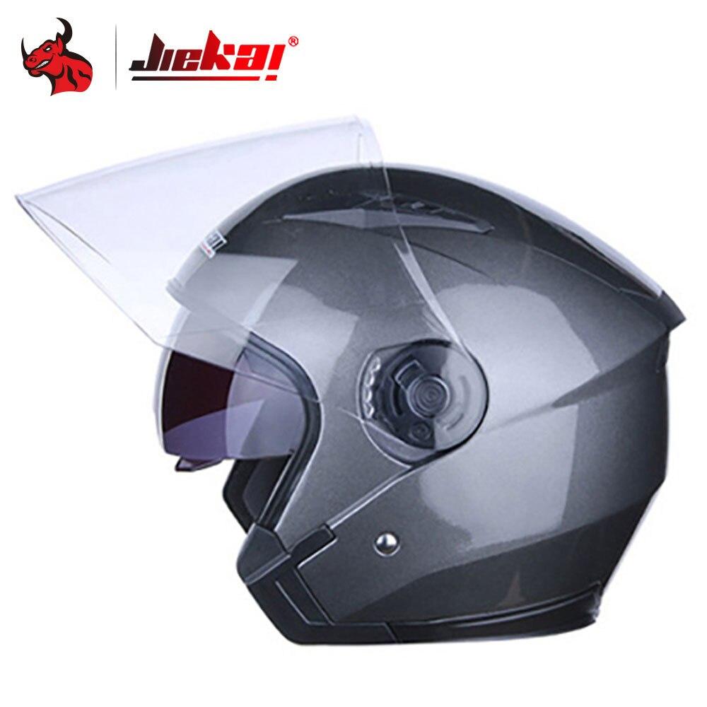 JIEKAI Casco Moto Flip Up Doppio Visiere Casco Moto Casco Capacete Para Motociclo Cascos Para Moto Capacetes Per Le Donne Degli Uomini