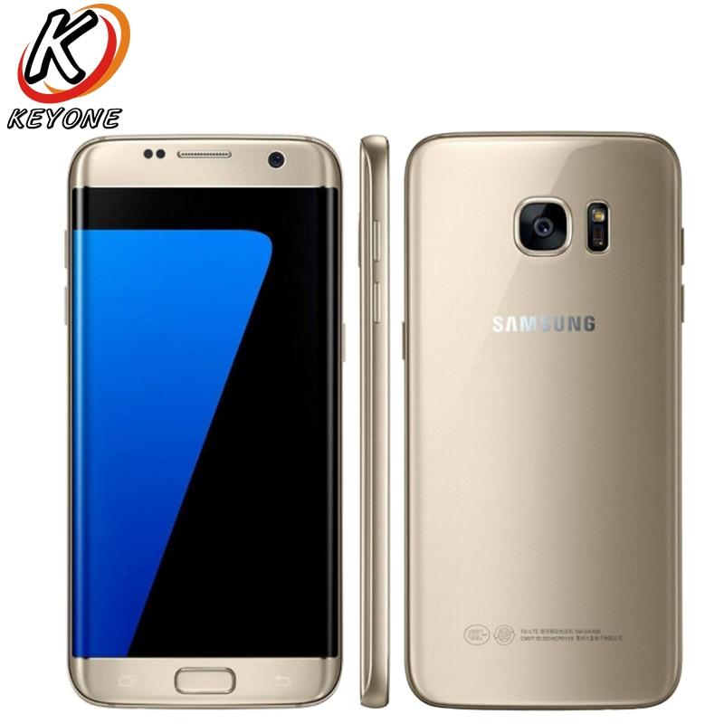 D'origine Samsung Galaxy S7 G930W8 4G LTE Mobile Téléphone 5.1 pouce 4 GB RAM 32 GB ROM Quad Core NFC 12MP Android Téléphone Intelligent