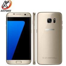 Оригинальный Samsung Galaxy S7 g930w8 4 г LTE мобильный телефон 5.1 дюймов 4 ГБ Оперативная память 32 ГБ Встроенная память 4 ядра NFC 12MP Android-смартфон