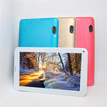 2017 más barata llamada de teléfono pc de la tableta de 7 pulgadas MTK6572 Dual core Bluetooth Wifi Android 4.4 4 GB ranura para tarjeta sim Dual GPS 800*480 GSM