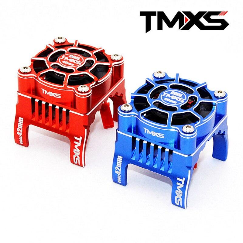 FATJAY TMXS RC 42mm waterproof HV 5 12V All alu high speed cooling fan dual ball