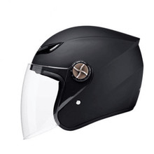 Motorcycle Helmet Open Face 57-62cm Full Motocross Racing Unisex Moto Helm Accessories