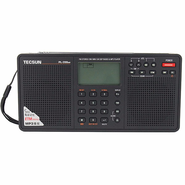 Hot Sale TECSUN PL-398MP DSP Radio (1)