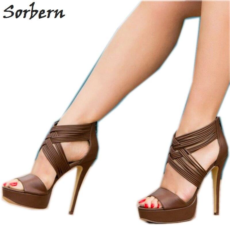 Color Las Sandalias Sandales Sorbern Cuñas 2019 De Zapatos Custom y80wnvmON