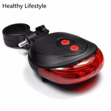 LED Flashing Lamp Tail Light Rear Cycling Bicycle Bike Safety Warning Light Outdoor Bike Cycling Accessories Wholesale Feb 16