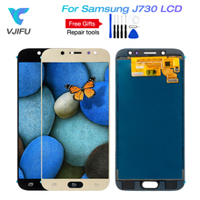 "5.5"" Original AMOLED J730 LCD for SAMSUNG Galaxy J7 Pro Display and Touch J730 J730F OLED For SAMSUNG J7 Pro LCD Screen"