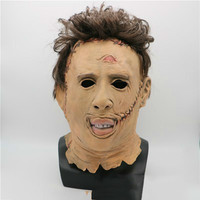 Top Grade 100% Latex Horror Movie Halloween Michael Myers Mask Adult Party Masquerade Cosplay Latex Myers Masks Full Head Mask