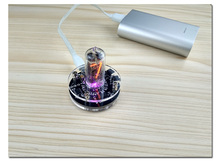DYKB 1 bitแบบบูรณาการหลอดเรืองแสงนาฬิกาสำหรับQS18 12 นาฬิกาเรืองแสงหลอดDS3231 nixie CLOCKในตัวBoostโมดูล