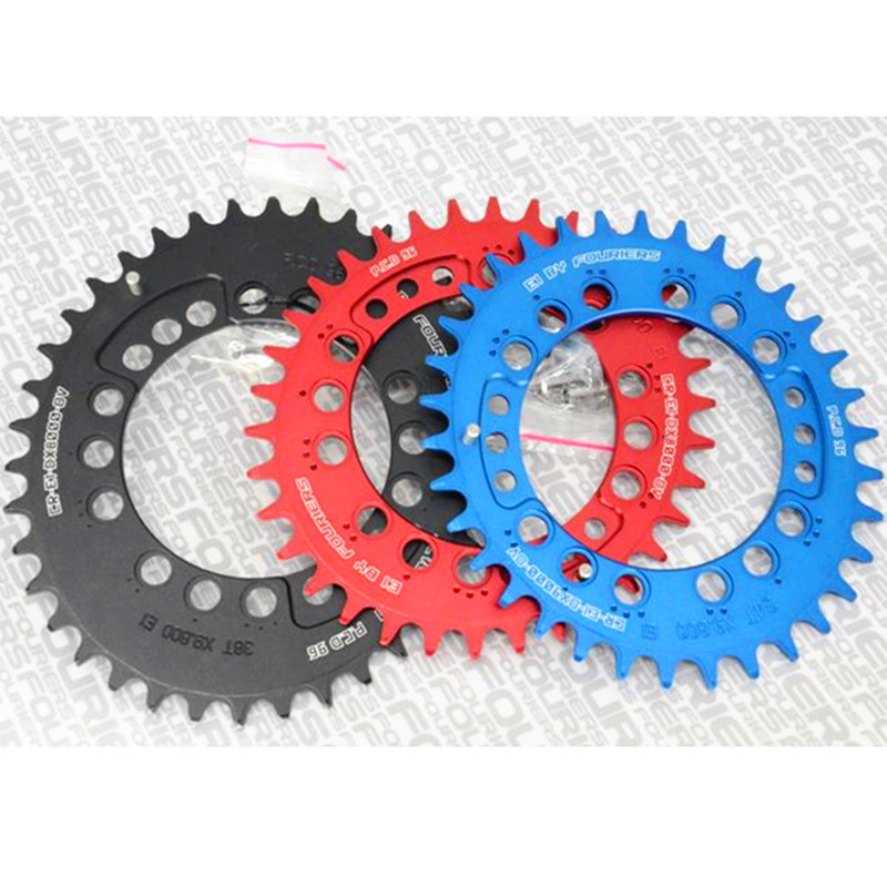 цена на FOURIERS CR-E1-DX8000-OV 34T -48T 96 Bcd oval Chainring Mountain BIke Crankset AM FR DH Chainwheel Bicycle Parts