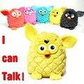 Pheobe coruja brinquedos eletrônicos Pet falar firby de aprendizagem e de educação brinquedos de pelúcia para crianças