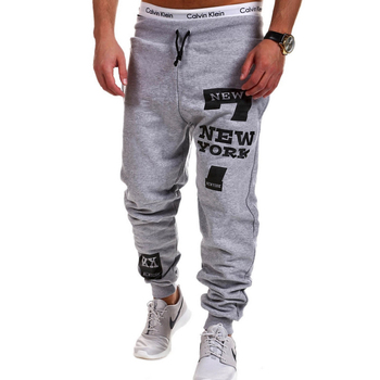 Mens Joggers 2018 Brand Male Trousers Men Pants Casual Solid Alphanumeric printing Pants Men's Sweatpants Jogger Large Size XXXL 2