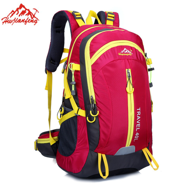 ФОТО mochilas mujer male bag 40 L mountaineering bags riding backpack men laptop backpack High capacity portfolios for teens