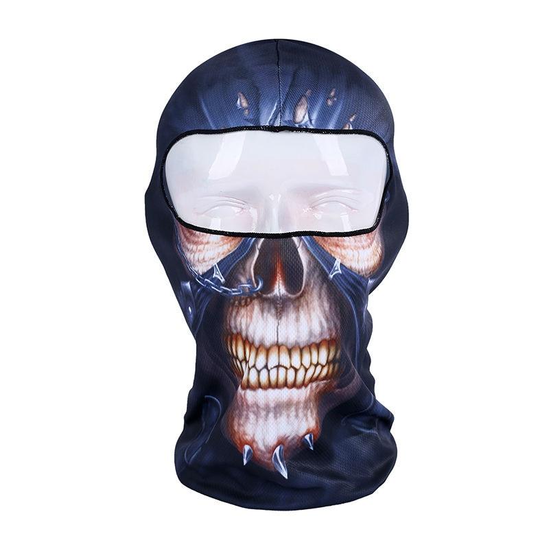 Cycling Bandana Moto Shield Animal Mask Outdoor Sports Cap <font><b>Helmet</b></font> Bike Scarf Filter Airsoft Balaclava Protection <font><b>Face</b></font> Shield