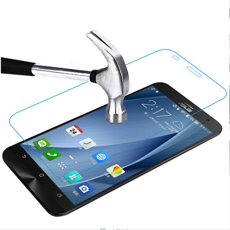 Tempered <font><b>Glass</b></font> For <font><b>Asus</b></font> <font><b>ZenFone</b></font> <font><b>2</b></font> <font><b>ZE500CL</b></font> Z00D Deluxe ZE550ML ZE551ML 5.0 5.5 inch 2E <font><b>Screen</b></font> Protector Toughened Protective Film image