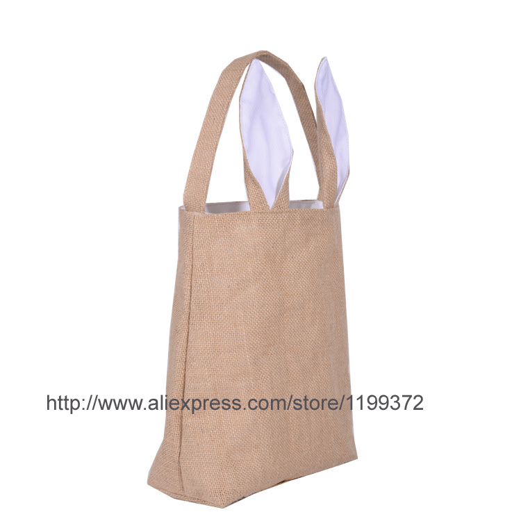 20pcs cotton lined linen canvas easter gift bag rabbit bunny ear 20pcs cotton lined linen canvas easter gift bag rabbit bunny ear shopping tote bag bunny ears bag baby kids in storage boxes bins from home garden on negle Gallery