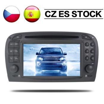 Android 8.0 Car GPS Navigation DVD Player radio for Mercedes-Benz SL SL500 SL230 R230 2001 2002 2003 2004 2005 2006 2007 Screen