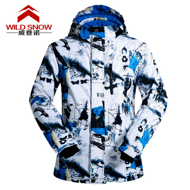 Hooded Waterproof Full Sleeve Clothing High Quality Windproof Ski Jacket Thermal Clothing Coat Winter Snowboarding Jackets lurker shark skin soft shell v4 military tactical jacket men waterproof windproof warm coat camouflage hooded camo army clothing