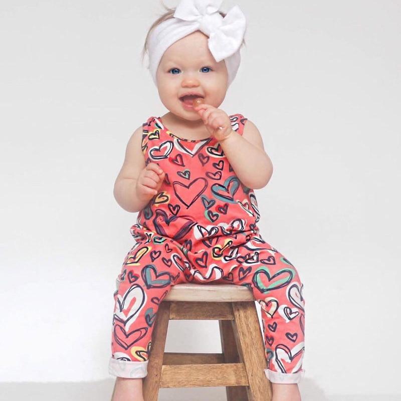 Mutter & Kinder Mutig 2018 Neue Niedliche Neugeborenen Baby Mädchen Outfit Strampler Overall Sleeveless O-ansatz Blumendruck Kinder Kleidung Vier Größe Yh-17